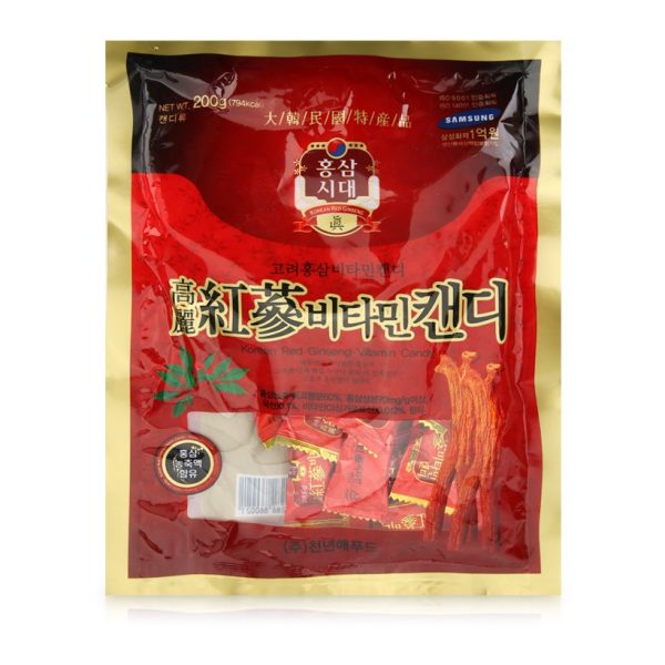 kẹo hồng sâm vitamin Hàn Quốc